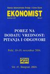 Ekonomist