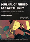 Journal of Mining and Metallurgy A: Mining