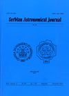 Serbian Astronomical Journal