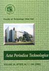 Acta periodica technologica