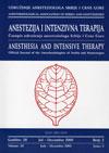 Anestezija i intenzivna terapija