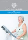 Facta universitatis - series: Physical Education and Sport