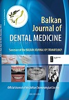 Balkan Journal of Dental Medicine