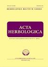 Acta herbologica