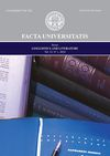 Facta universitatis - series: Linguistics and Literature