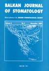 Balkan Journal of Stomatology