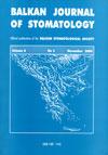 Balkan Journal of Stomatology