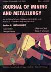 Journal of Mining and Metallurgy B: Metallurgy