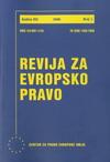 Revija za evropsko pravo