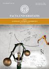 Facta universitatis - series: Automatic Control and Robotics