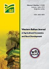 Western Balkan Journal of Agricultural Economics and Rural Development